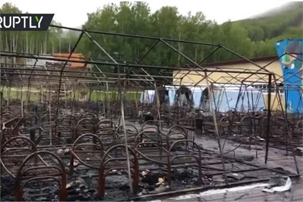 حريق مخيم صيفي للأطفال شرقي روسيا