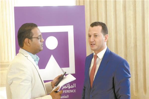 محمد عنتر عضو اللجنة المنظمة خلال حديثه مع «بوابة أخبار اليوم»