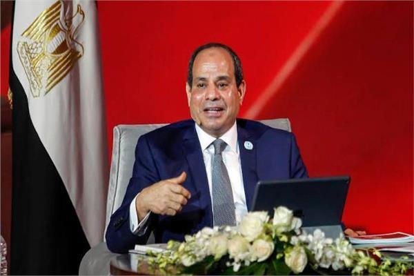 الرئيس السيسي خلال جلسة اسأل الرئيس