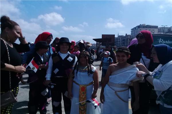 احتفالا بالعيد القومي.. ماراثون لذوي الاحتياجات الخاصة بالإسكندرية