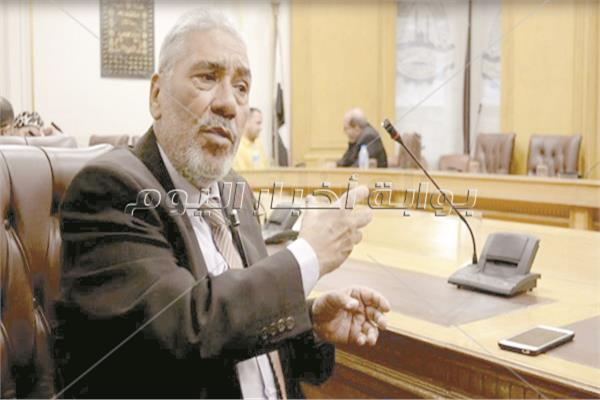 محمد وهبه رئيس شعبة القصابين بالغرف التجارية