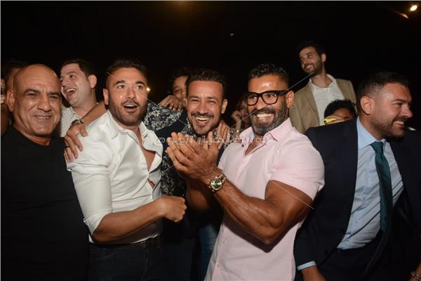 أبطال «أولاد رزق 2» يحتفلون بالعرض الخاص