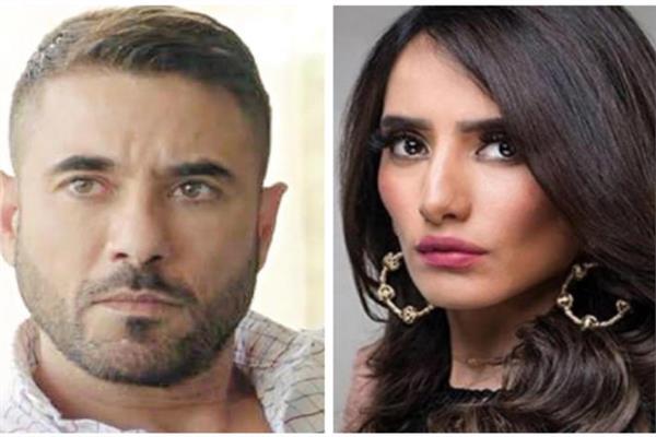 الفنان أحمد عز و الفنانة زينة