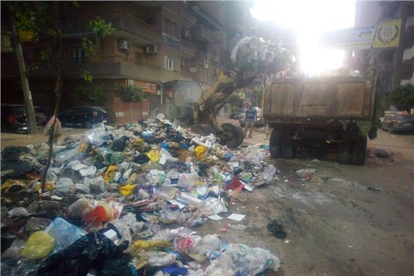 نقل ما يزيد عن 3 آلاف طن قمامة في ثاني أيام عيد الأضحى المبارك