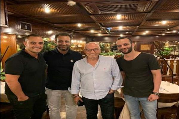 جيسفالدو فيريرا وأمير وأحمد مرتضى منصور