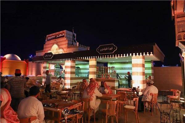 جناح مصر بسوق عكاظ في نسخته الـ13 بالسعودية