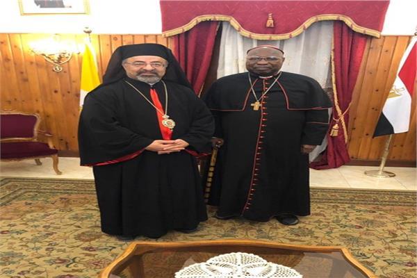 بطريركالكاثوليك يستقبل الكاردينال جبرائيل