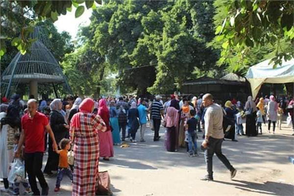 عيد الأضحى 2019| 95 ألف زائر لحديقة الحيوان في رابع أيام العيد