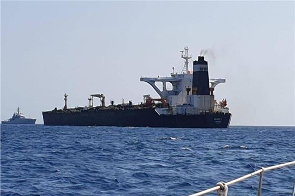 """ناقلة النفط الإيرانية """"جريس 1"""""""