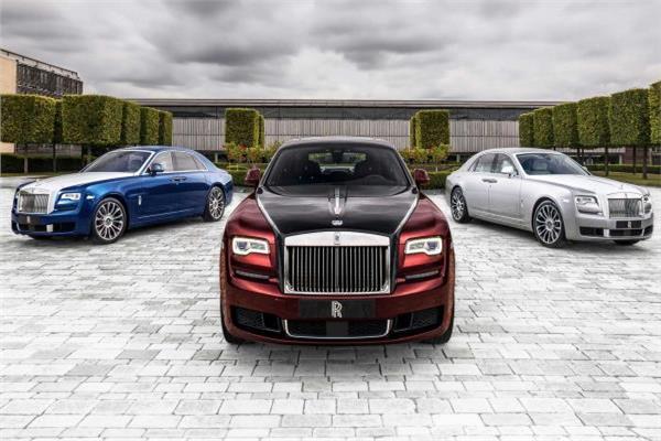 «رولز رويس» تكشف عن 3 سيارات بديلة لـ«Ghost»
