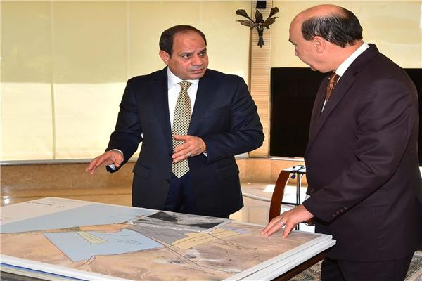 الرئيس السيسي في اجتماع سابق بمميش- أرشيفية
