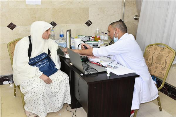 عيادات البعثة الطبية المصرية للحج
