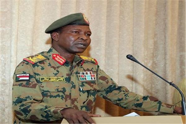 الفريق الركن شمس الدين الكباشي المتحدث باسم المجلس العسكري في السودان