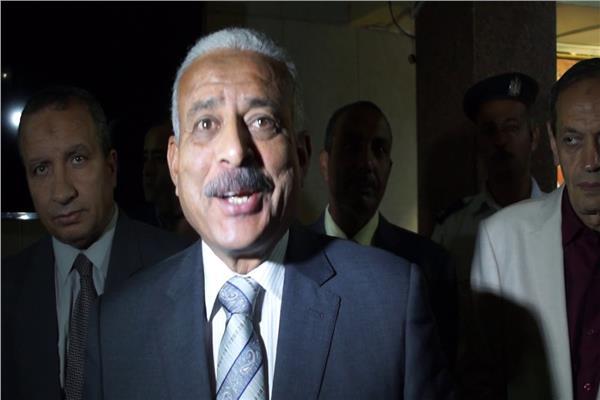 محافظ السويس عبد المجيد صقر