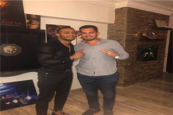 المنتج محمد جابر ومحمد رمضان