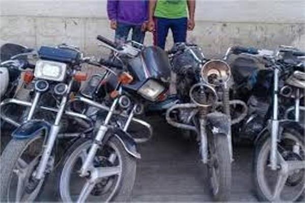 ضبط لصى الدراجات البخارية بالشرقية