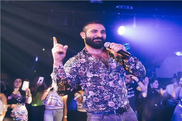 أحمد سعد خلال الحفل