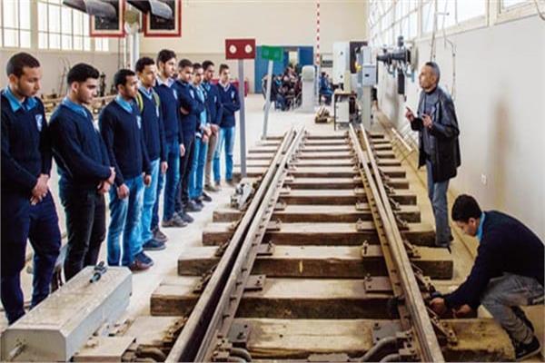 صيل اختبارات القبول بمعهد تكنولوجيا السكة الحديد