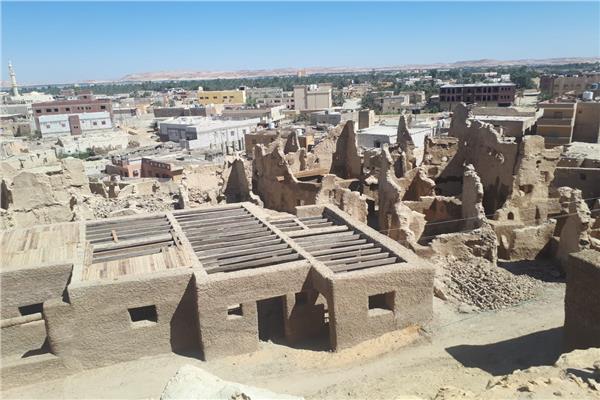 ترميم قلعة شالي القديمة