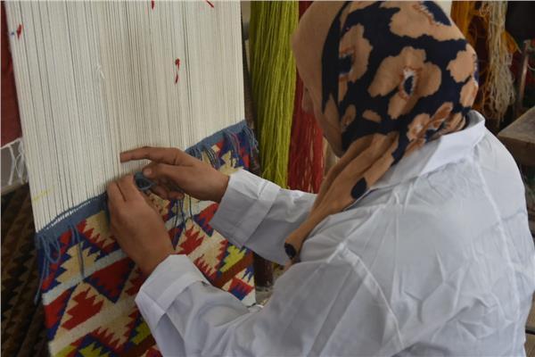 صناعة الكليم والسجاد البدوي