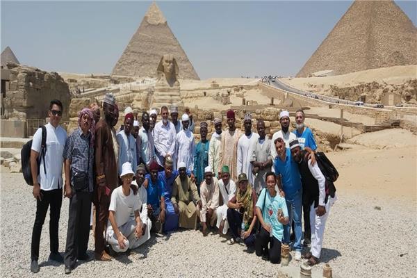 أكاديمية الأزهر تنظم رحلة سياحية للأئمة الوافدين للتعريف بالحضارة المصرية