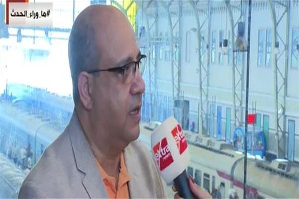 المهندس سامي عبد التواب نائب رئيس هيئة السكك الحديدية