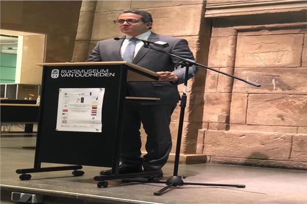 وزير الاثار يفتتح المؤتمر الدولي لشباب علماء المصريات 2019 بلايدن بهولندا