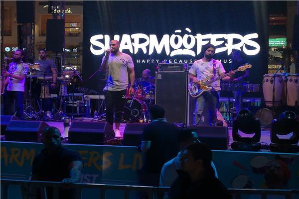 فريق شارموفرز - أثناء حفلهم في كايرو فستيفال