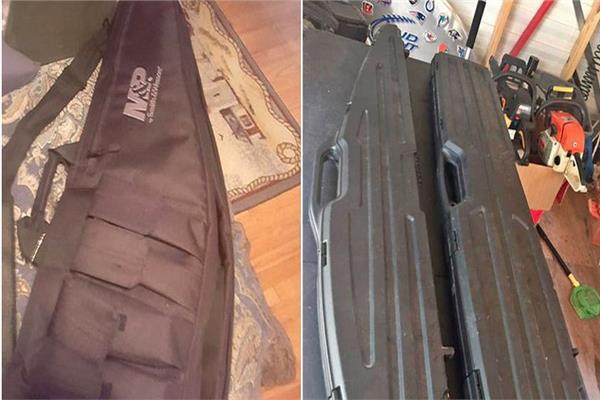 صورة الأسلحة التي نشرتها ميرور