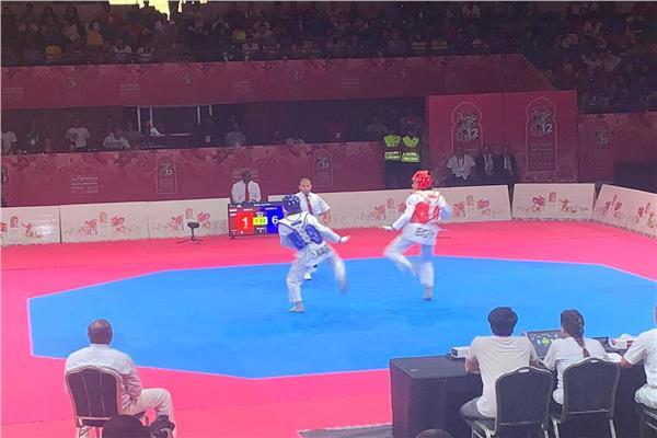 رضوى رضا تحرز الميدالية الفضية بتايكوندو الألعاب الإفريقية