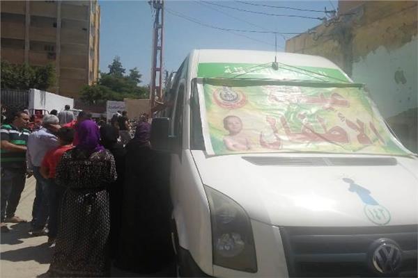علاج 2060 مواطنا بالمجان بقرية بالشرقية