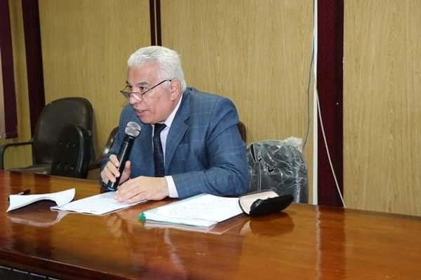 الدكتور محمد سعد محمد، وكيل وزارة التربية والتعليم بالبحيرة