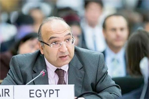 السفير عمرو رمضان