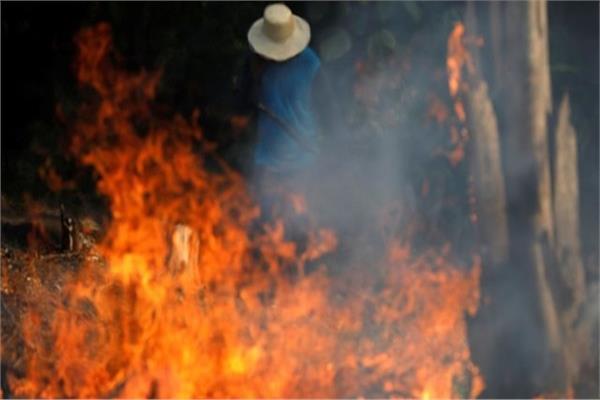 حريق غابات الأمازون