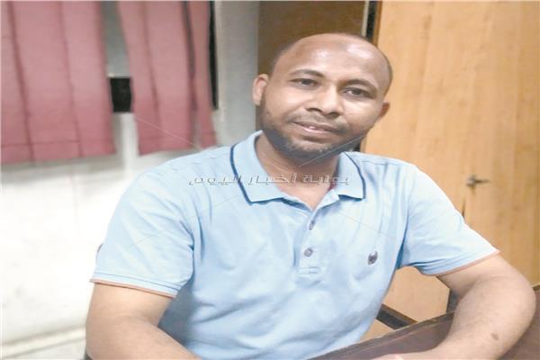 سنوسي حامد رئيس اتحاد طلاب النيجر بالقاهرة
