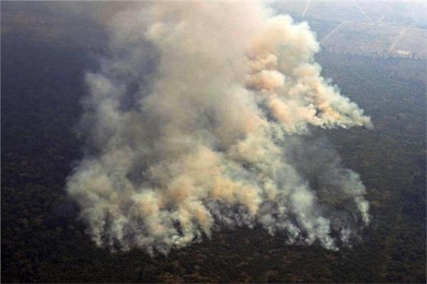 صورة لحرائق الأمازون