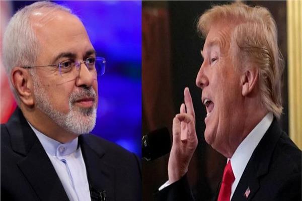 دونالد ترامب ومحمد جواد ظريف