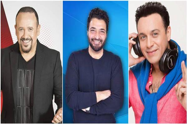 مصطفى قمر - حميد الشاعري - هشام عباس