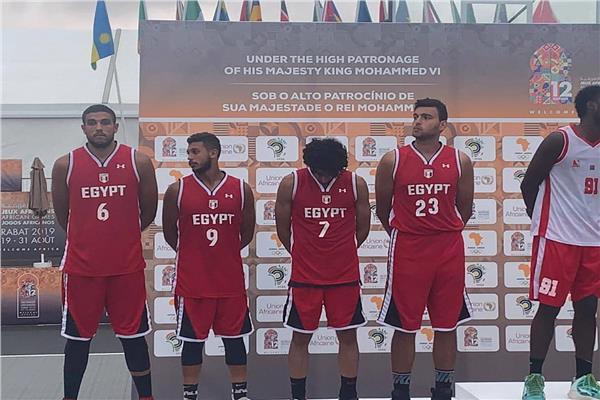 منتخب رجال السلة يحصد فضية دورة الألعاب الإفريقية