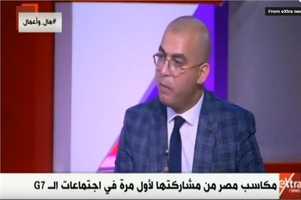 الدكتور أحمد سعيد أستاذ القانون الدولي بالجامعة البريطانية