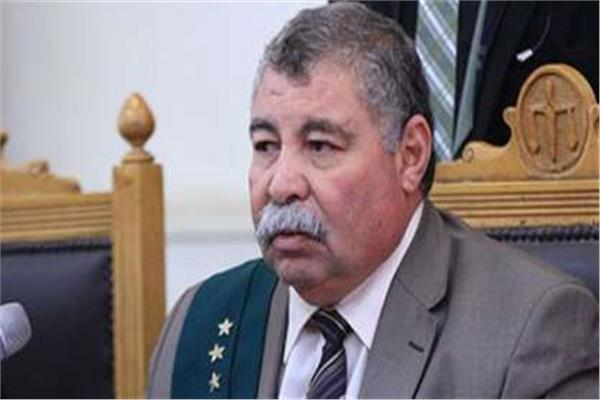 المستشار حسن فريد رئيس المحكمة