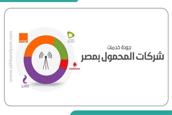 جودة خدمات شركات المحمول بمصر