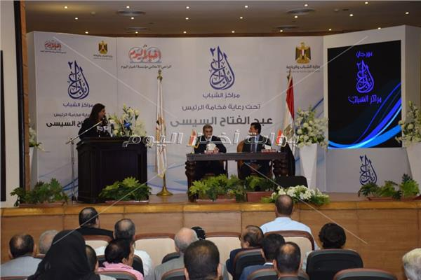 الكاتب الصحفي ياسر رزق والدكتور أشرف صبحى