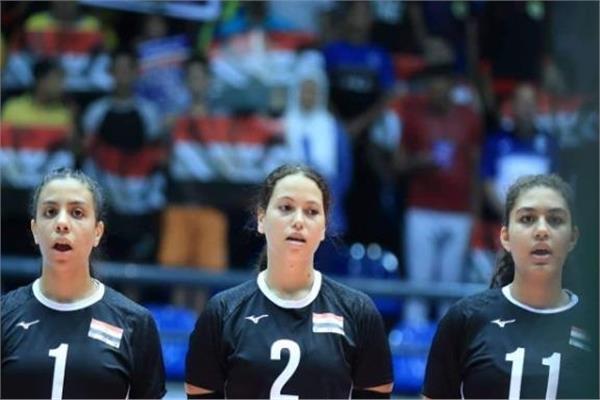 منتخب مصر لكرة الطائرة ناشئات