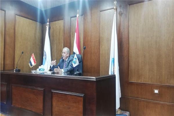 م.مصطفى مجاهد رئيس شركة مياه الشرب بالقليوبية