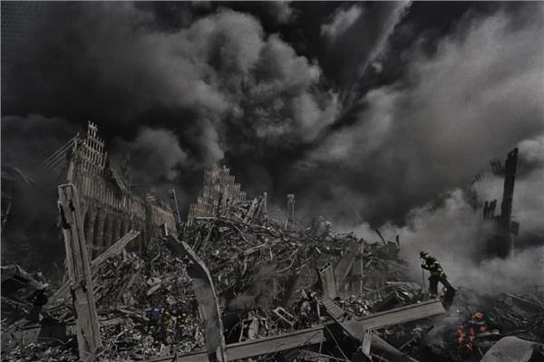 صورة أرشيفية من هجمات 11 سبتمبر