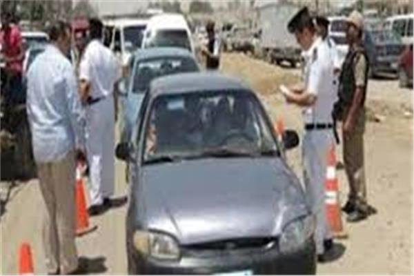 ضبط 4443 مخالفة مرورية في الجيزة