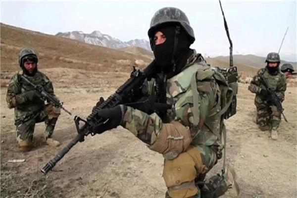 القوات الأفغانية