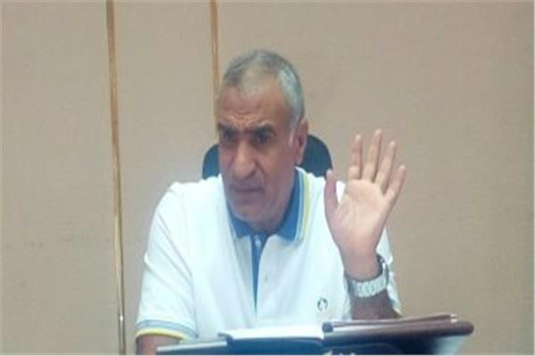 المهندس منصور بدوى رئيس شركة مياه الجيزة