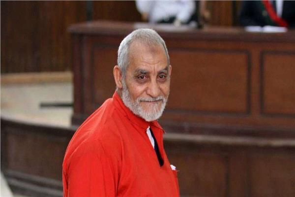 المرشد العام للتنظيم  الإرهابي محمد بديع